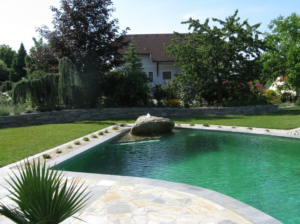 Pool Im Garten Integrieren. Affordable Aussenpool Der Pool With ...